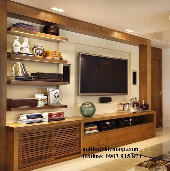 Nội Thất Phòng Khách - Kệ TiVi - 056