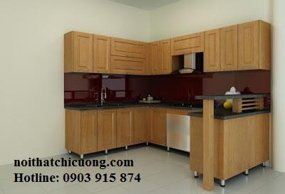 Nội Thất Phòng Bếp - Tủ Bếp Chữ L - 108