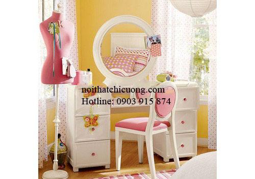 Nội Thất Phòng Ngủ - Bàn Trang Điểm Sơn Trắng - 073