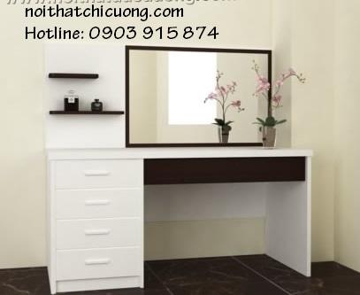 Nội Thất Phòng Ngủ - Bàn Trang Điểm Sơn Trắng - 081