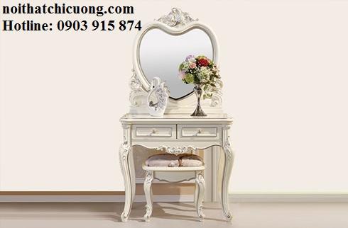 Nội Thất Phòng Ngủ - Bàn Trang Điểm Sơn Trắng - 084