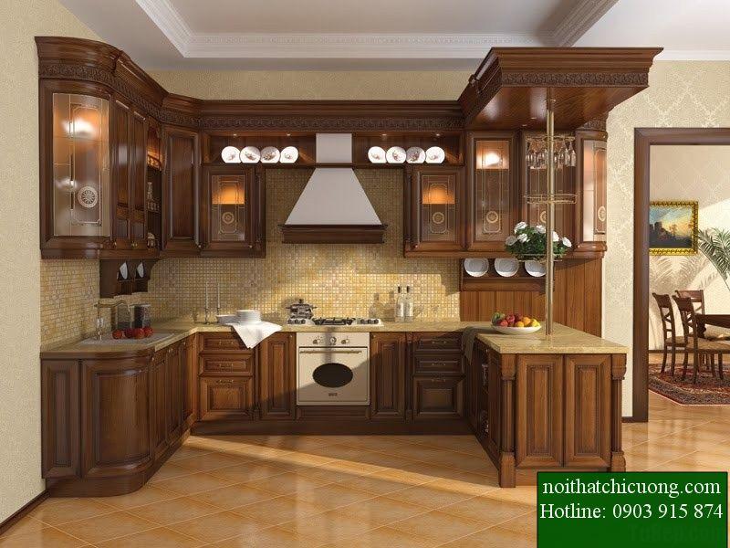 Nội Thất Phòng Bếp - Tủ Bếp Chữ U - 70