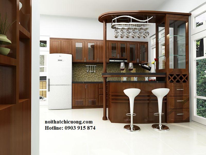 Nội Thất Phòng Bếp - Tủ Bếp Chữ L - 110