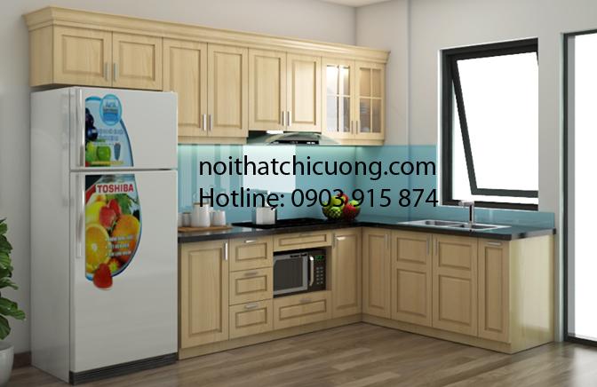 Nội Thất Phòng Bếp - Tủ Bếp Chữ L - 112