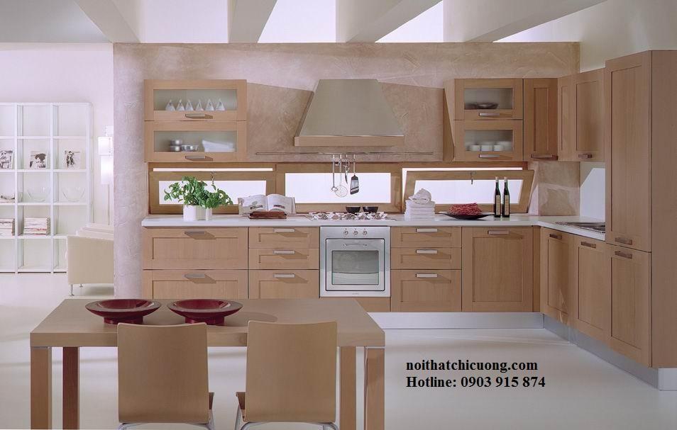 Nội Thất Phòng Bếp - Tủ Bếp Chữ L - 113