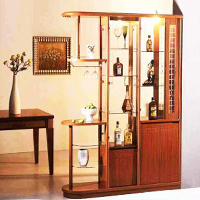 Tủ Rượu Phòng Khách - Gỗ Căm Xe Chất Lượng -016