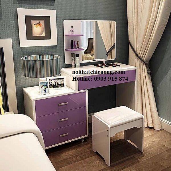 Nội Thất Phòng Ngủ - Bàn Trang Điểm Sơn Trắng - 069
