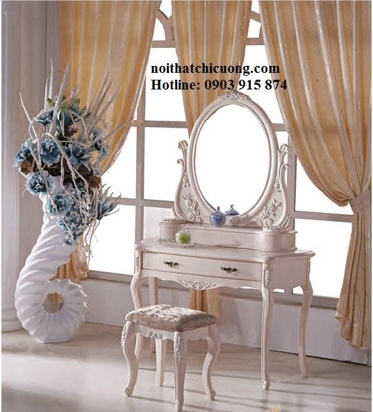 Nội Thất Phòng Ngủ - Bàn Trang Điểm Sơn Trắng - 068