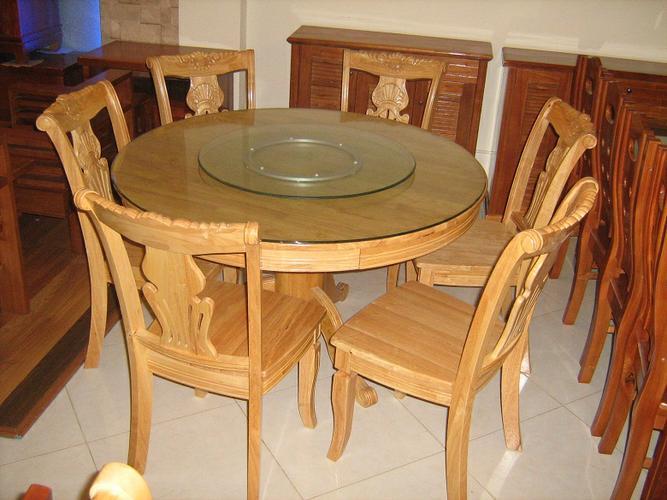 Bộ Bàn Ăn Phòng Bếp Bằng Gỗ Cẩm Lai -038