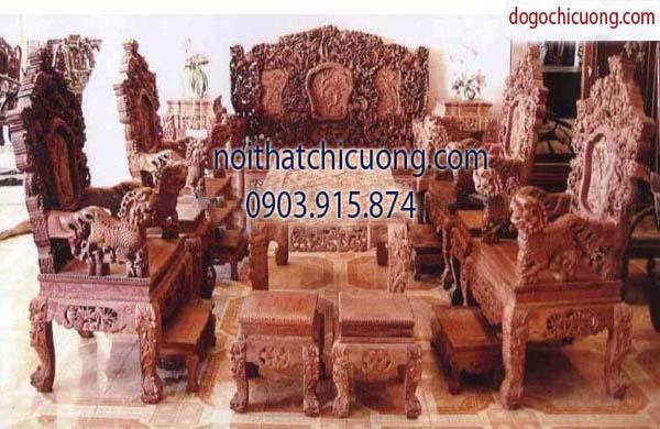 Nội thất phòng khách - Bàn ghế phòng khách - Gỗ Sồi -113