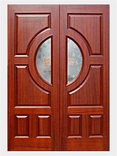 Cửa, Khung Cửa Nhà Phố Sang Trọng - Gỗ Gỏ Đỏ -048