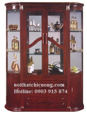 Tủ Rượu Bằng Gỗ Huỳnh Đàng Bền Đẹp -021