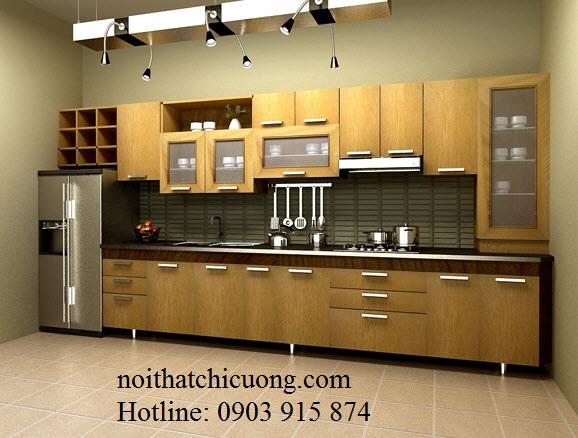 Nội Thất Phòng Bếp- Tủ Bếp Chữ I -060
