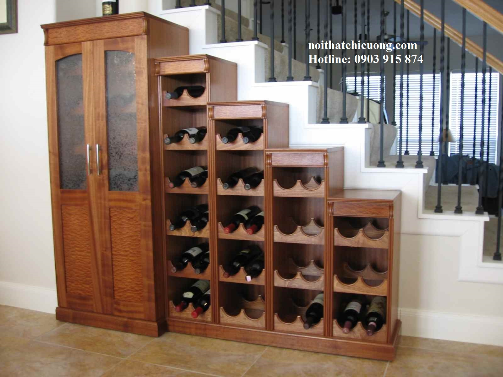 Tủ Rượu Phòng Khách Gia Đình - 025