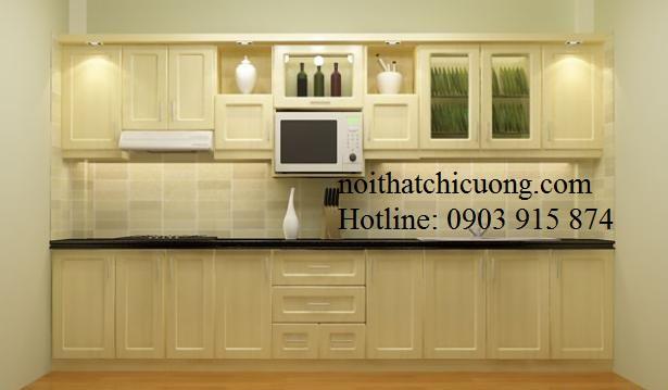 Nội Thất Phòng Bếp- Tủ Bếp Chữ I-061