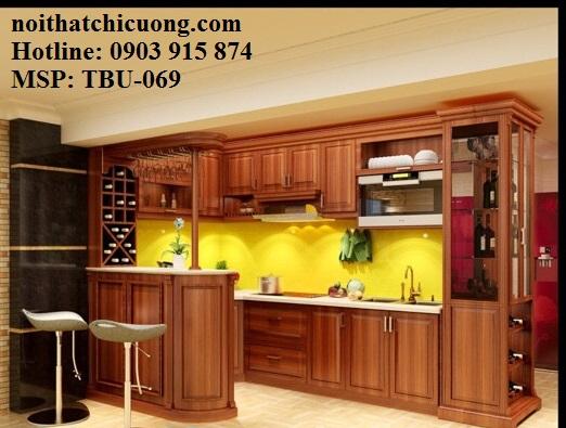 Nội Thất Phòng Bếp- Tủ Bếp Chữ U- 069