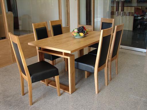 Bộ Bàn Ăn Phòng Bếp Đẹp - Gỗ Cẩm Lai Tự Nhiên -039