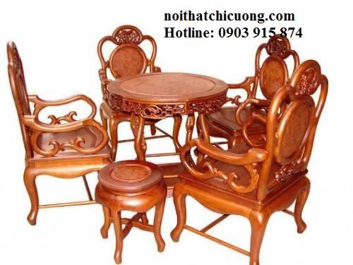 Bàn Ghế Đẹp Cho Nhà Xinh - Gỗ Xoan Đào Hiện Đại -073
