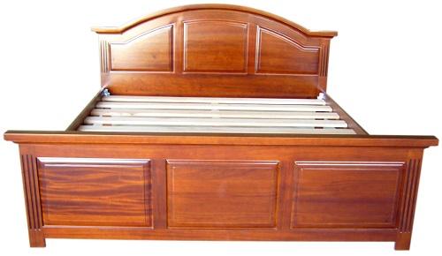 Giường Ngủ Cổ Điển Bằng Gỗ Căm Xe Đẹp -034