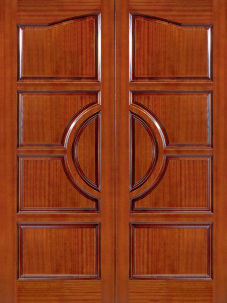 Cửa, Khung Cửa Nhà Phố Sang Trọng Bằng Gỗ Gỏ Đỏ- 052