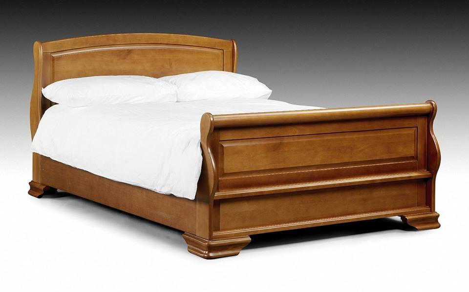 Giường Ngủ Cổ Điển - Gỗ Căm Xe Cao Cấp -038