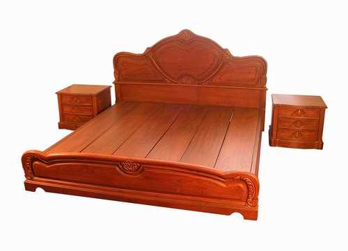 Giường Ngủ Cao Cấp - Gỗ Gỏ Đỏ Sang Trọng -039