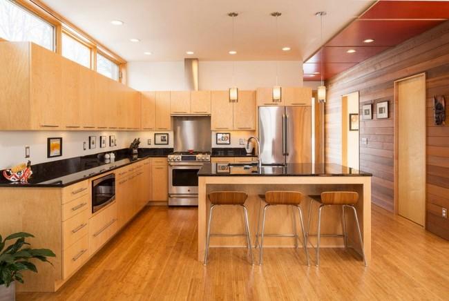 Tủ Bếp Có Bàn Đảo Đẹp Hiện Đại Cho Nhà Phố-029