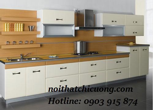 Nội Thất Phòng Bếp- Tử Bếp Chữ L -086